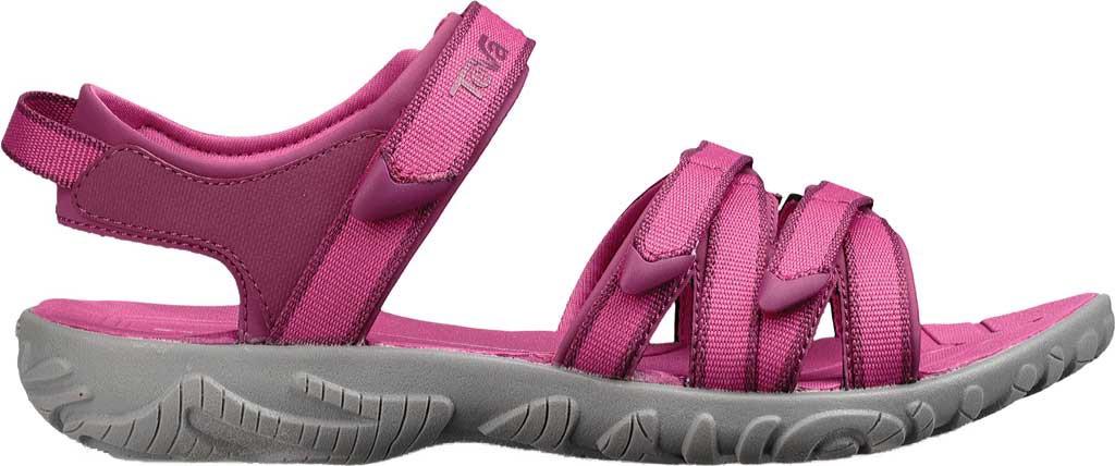 0ad68cc9f Teva Tirra Sport Sandal - Big Kid Raspberry Rose Synthetic Textile 6 M  (Regular)