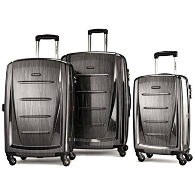 Samsonite Winfield 2 Fashion 3 Piece Spinner Nesting Set 3 Pc Set Dark Grey Learn More By Visiting The Hard Shell Luggage Samsonite Luggage Luggage Sets