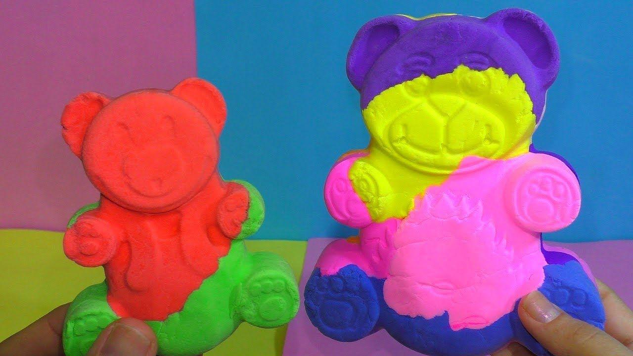 Antistress Medved Iz Legkogo Plastilina Eksperiment Medved Plastilin Penaly