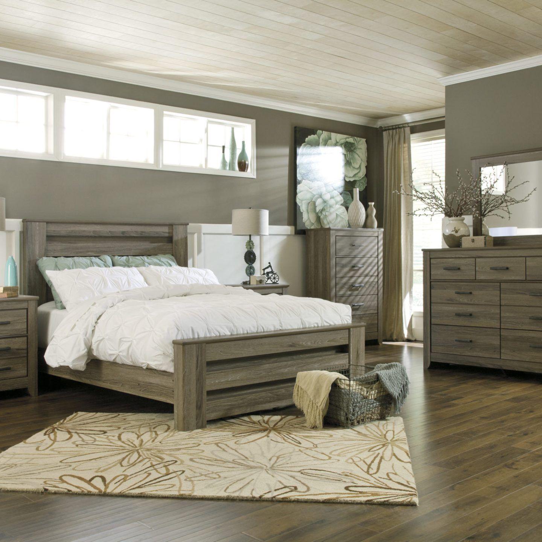 Zelen 6 Piece Bedroom Set Bedroom Furniture Sets
