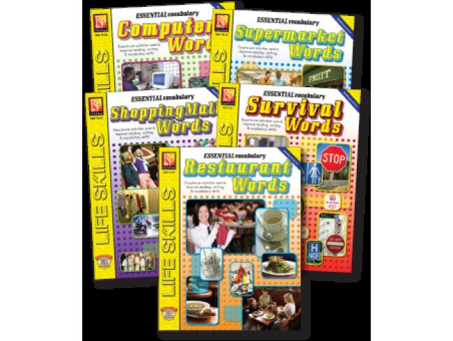 Essential Vocabulary Series (5-Book Set)