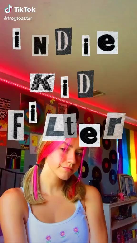Indie Kid Filter Video In 2020 Photography Editing Indie Kids Aesthetic Indie
