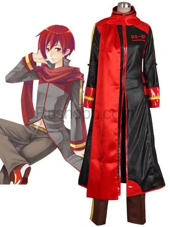 Vocaloid Akaito Cosplay Costume