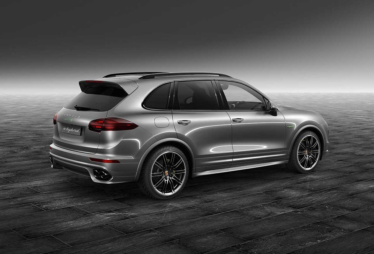 Cayenne S E Hybrid Gets A Meteor Grey Metallic Colour From Porsche
