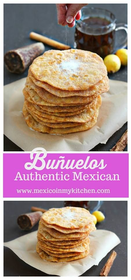 How to make mexican buñuelos