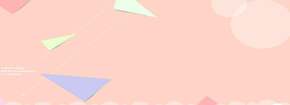 Pink Minimalistic Geometric Banner Background Banner Background Pink Background Images Vector Background Pattern