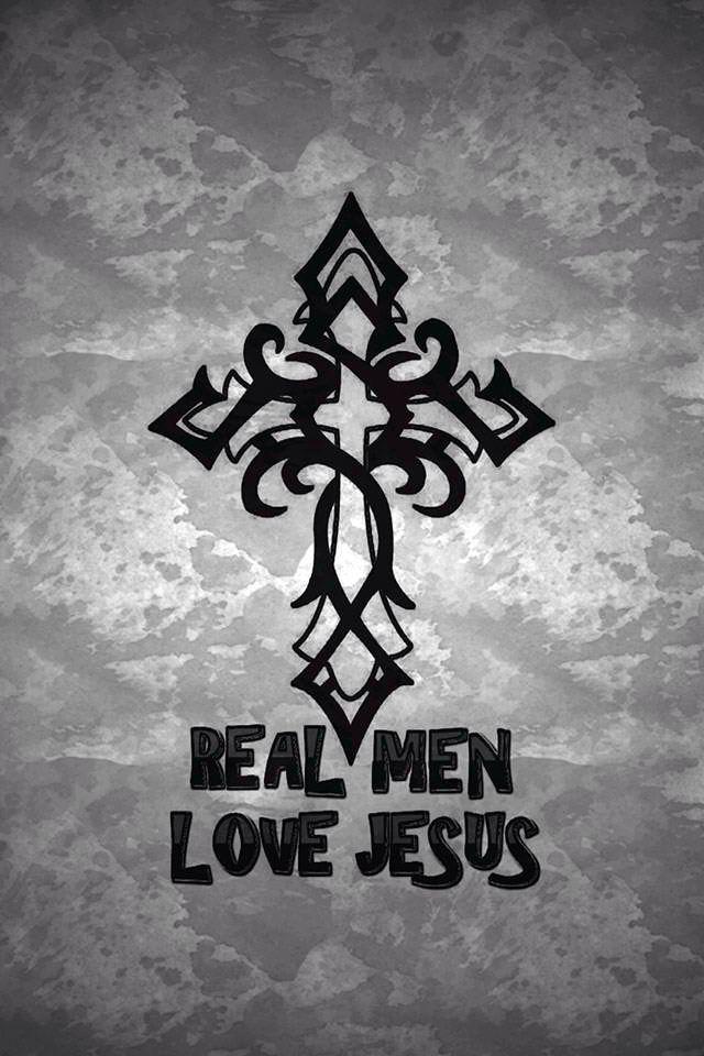 Real Men Love Jesus Iphone Wallpaper For Guys Jesus Saves Man