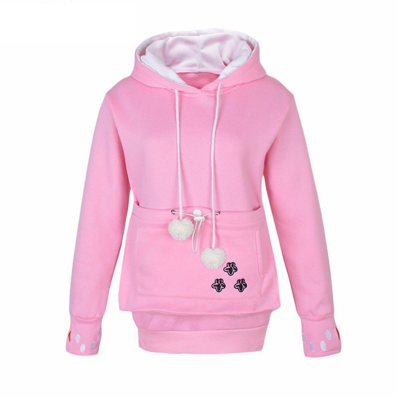Cozy Cataroo Pouch Hoodie Pouches And Products - Hoodie with kangaroo pouch is the perfect cat accessory