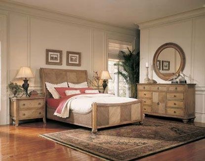 fine rattan bedroom furniture sets | Braxton Culler - Saw Grass - Bedroom Furniture Set