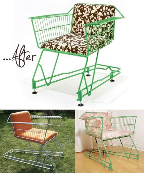 Ingenious Repurposing Unusual Kitchen Islands And Printers: How Awesome And Creative.. Its Made From A Shopping Cart