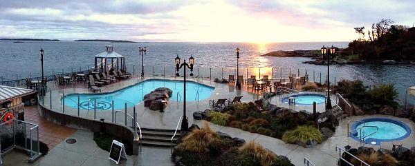 Mineral Pools At The Oak Bay Beach Hotel Victoria Bc