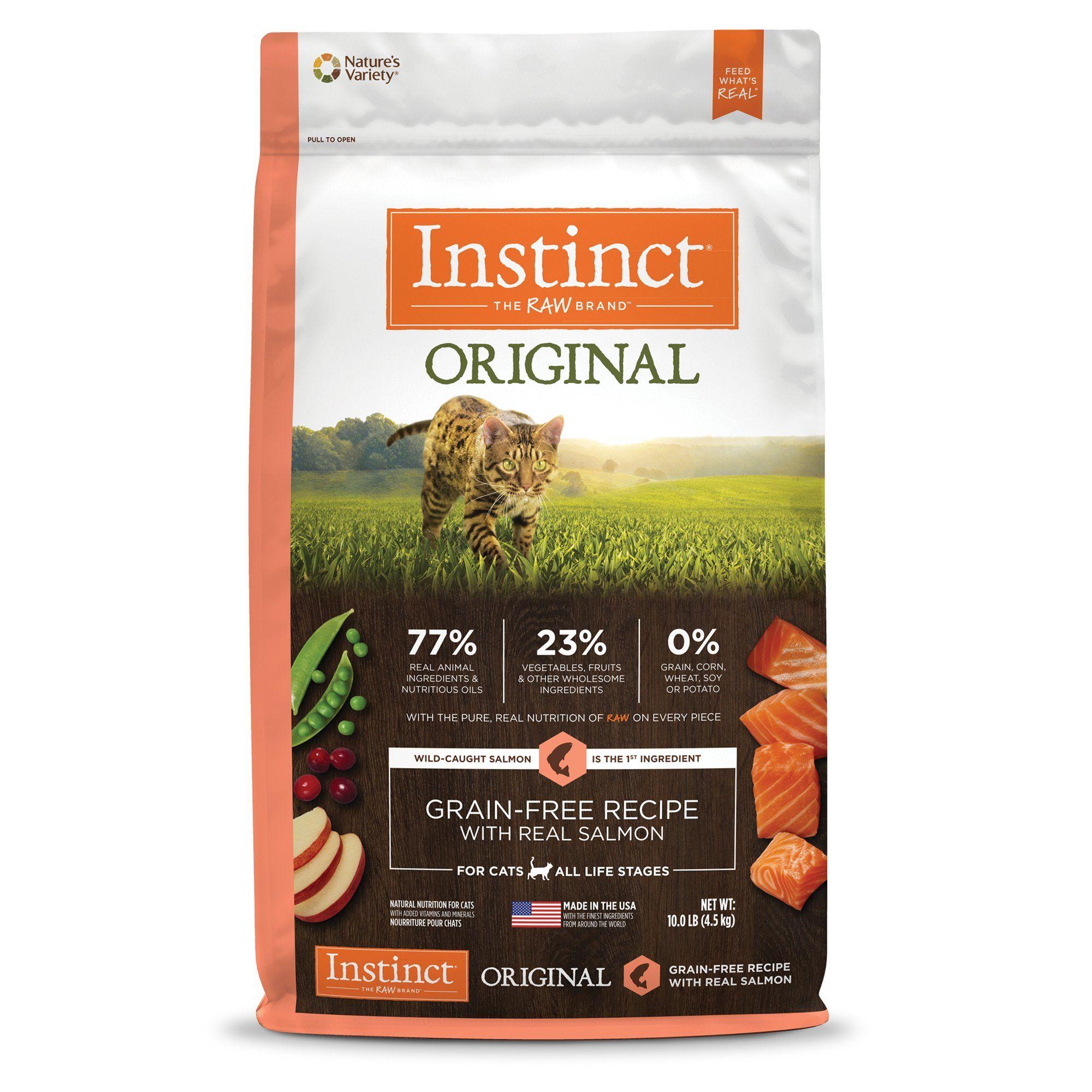Instinct Original Grain Free Recipe With Real Salmon Natural Dry