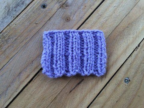 Le montage élastique - YouTube | Tricot, Point de tricot
