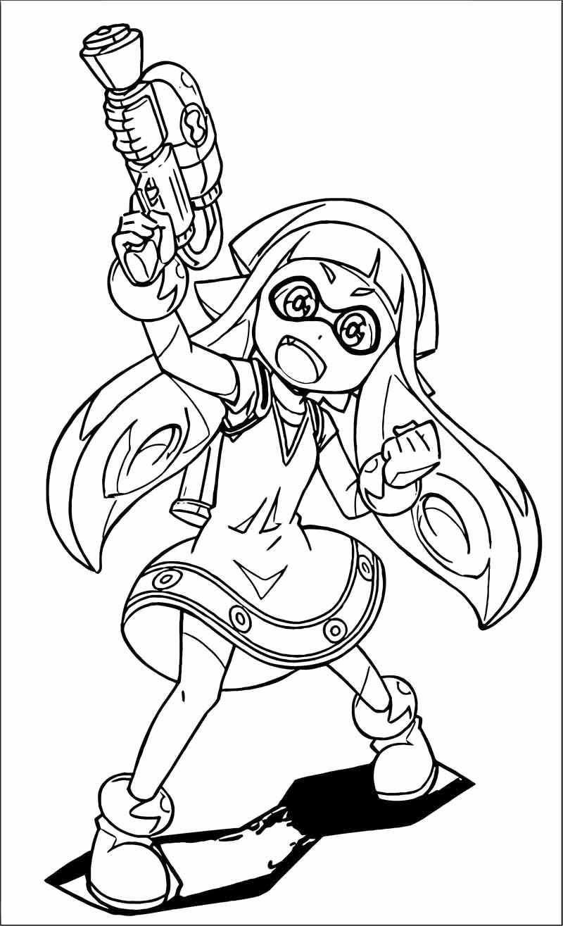 Squid Girl Anime Coloring Pages Printable Best Of Pin Di Coloring Sheets For Kids Coloring Pages Cartoon Coloring Pages Squid Girl [ 1315 x 800 Pixel ]