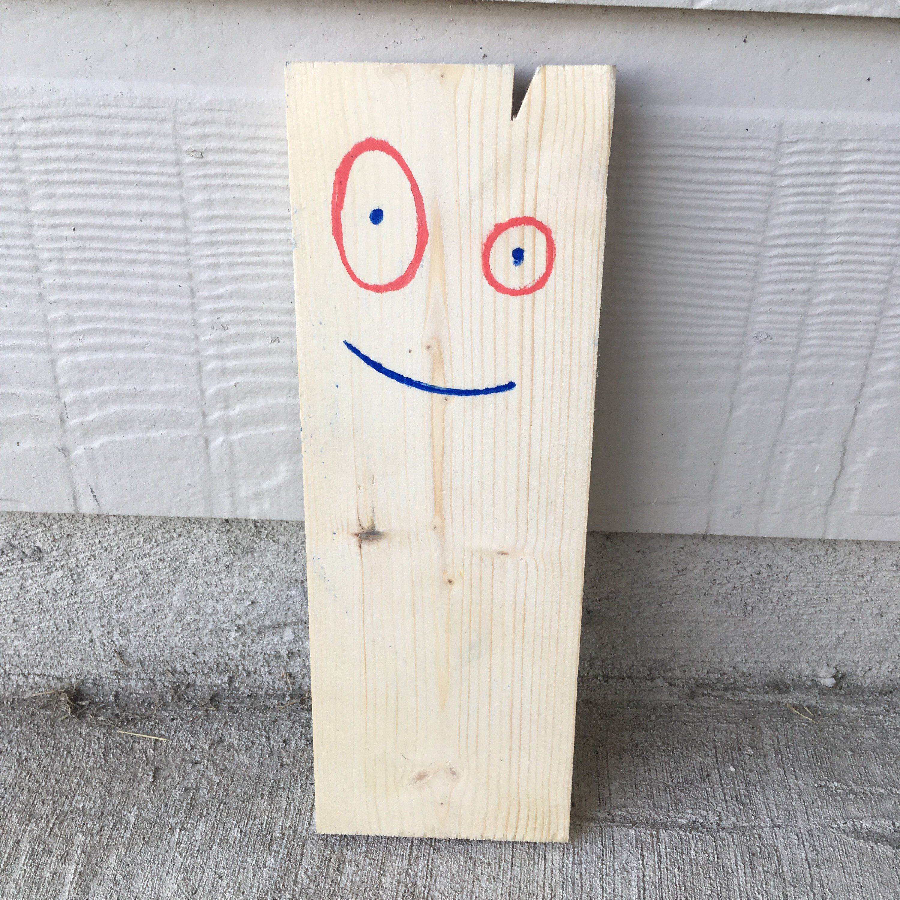 Miniature Plank Wooden Portable Friend Quirky Gift Quirky