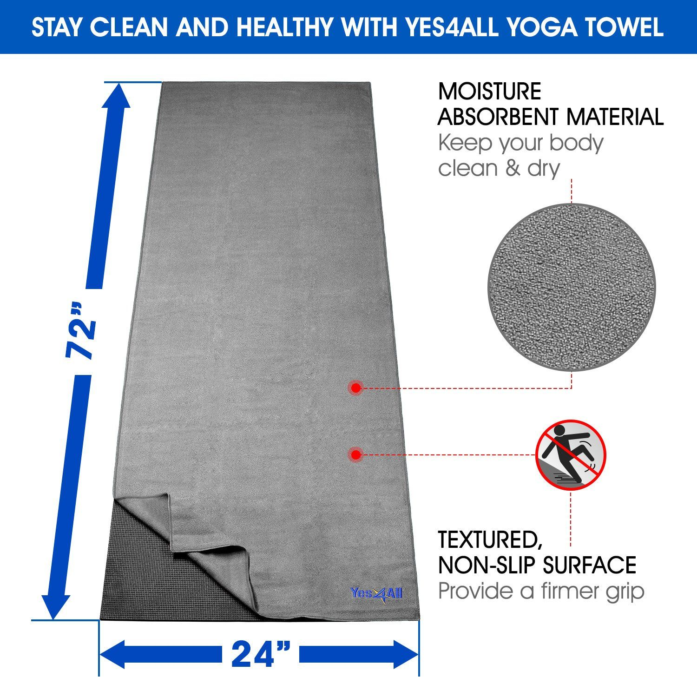 Yes4all Yoga Starter Kit A Include 2 Yoga Blocks Yoga Strap Dring Yoga Towel And Pvc Yoga Foam Mat A Yoga Kit Beginners Bla Yoga Kit Yoga Towel Yoga Block