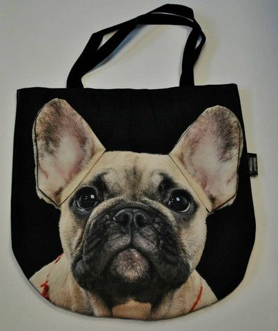 #PerfectChristmasGift Cute durable 3D Handbag with unique Beige French Bulldog pattern – Limitless Bags UK