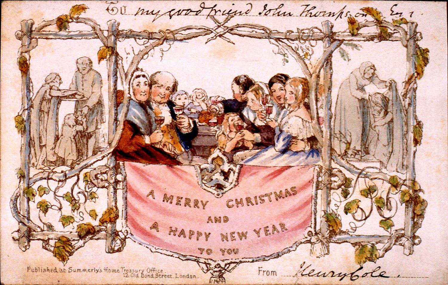 Victorian christmas vintage greeting cards pinterest xmas