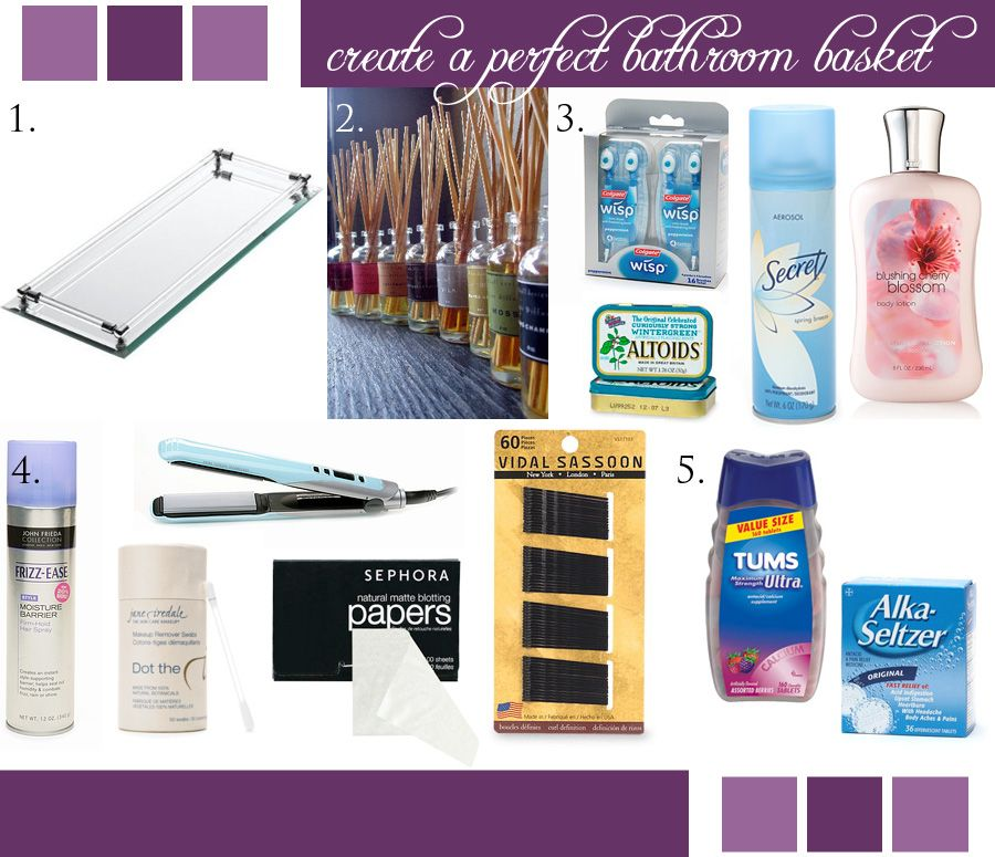 What To Put In A Guest Bathroom Basket Blog Indianapolis Wedding Planners