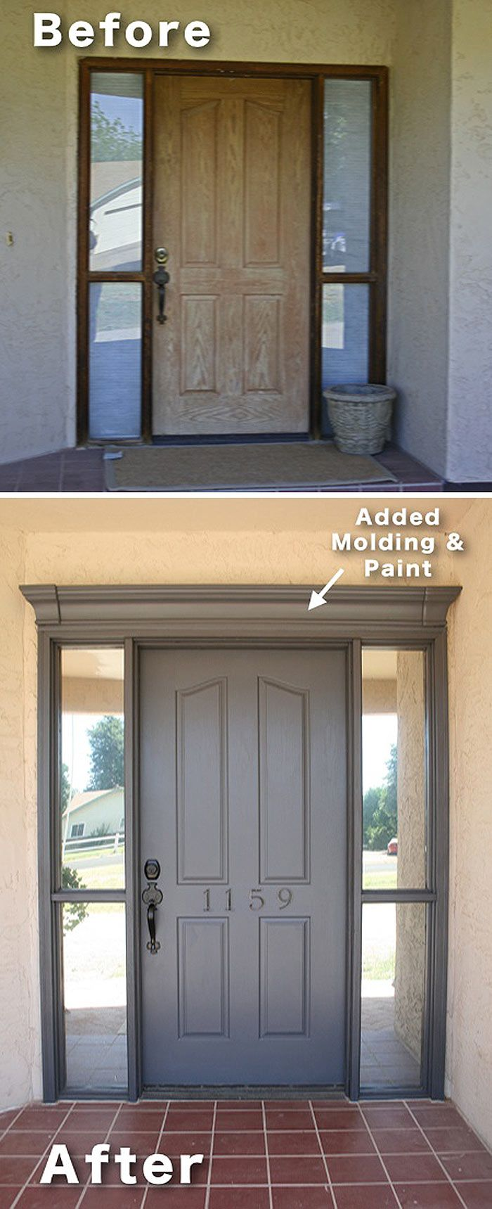 Above exterior window decor  these projects are diy friendly and are sure to boost your homeus