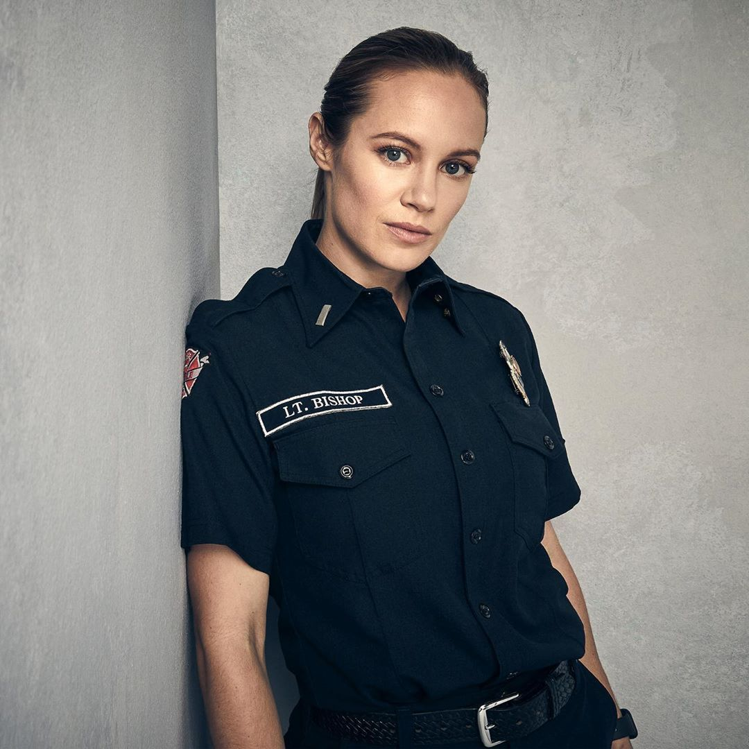 Station 19 On Instagram Danielle Savre As Maya Bishop Station19 Bishop Station Mens Tops