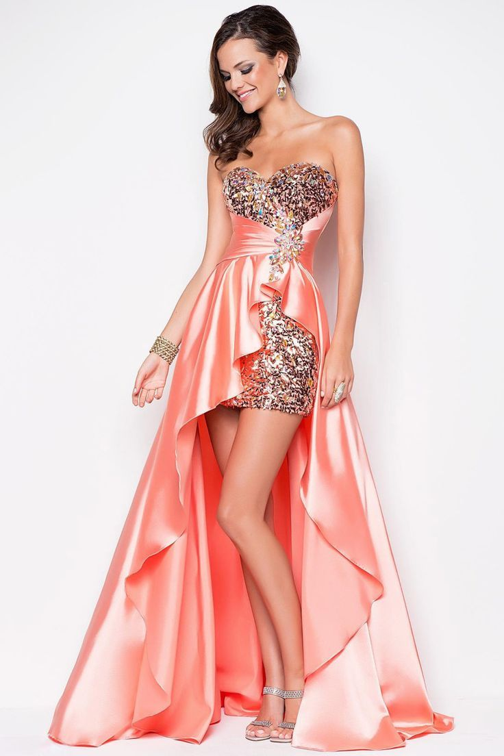 High Low Prom Dresses 2018 2013 Prom Dresses High Low Sweetheart ...