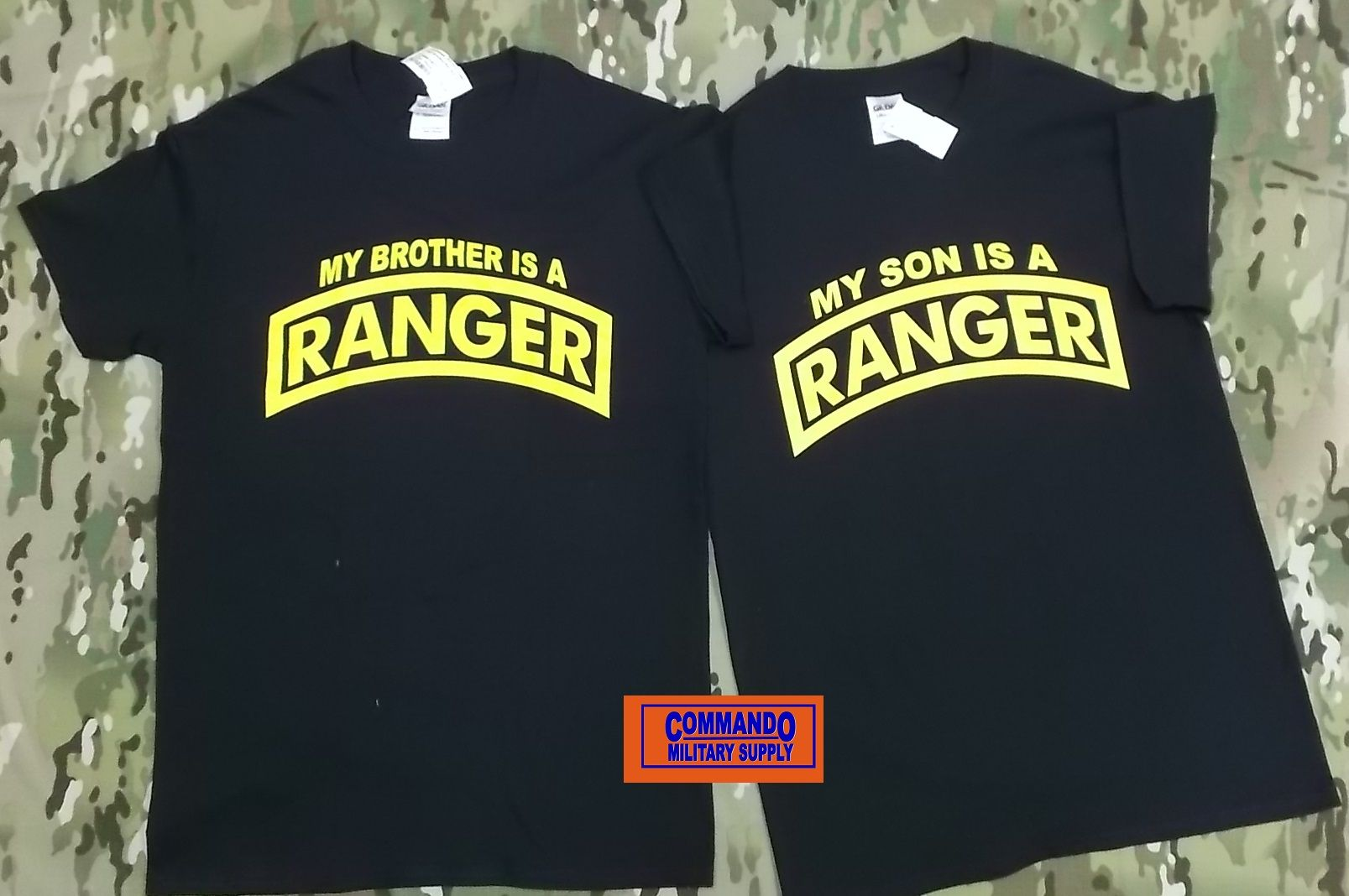 Ranger T Shirts Available At Commando Military Supply Usarmy