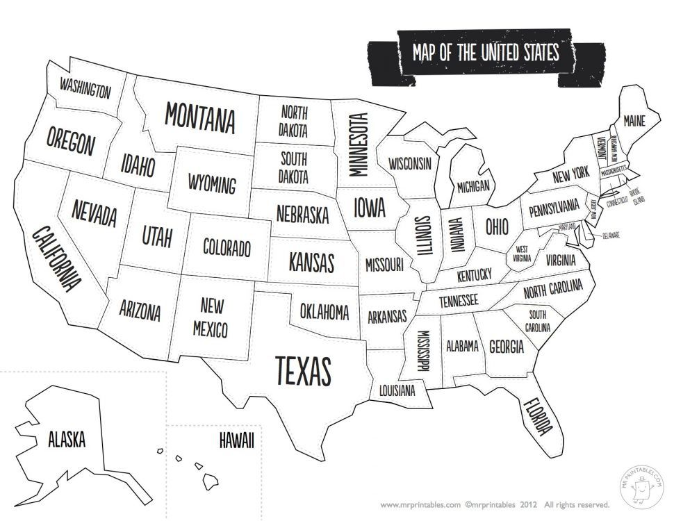 US Map Usa Map Coloring Pages United States Fresh State