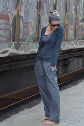 Photo of Pattern women's trousers Cairo by Hummelhonig