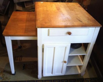 Pull out table kitchen island kitchen island table tables pull out table kitchen island kitchen island table tables gumtree australia maitland area watchthetrailerfo