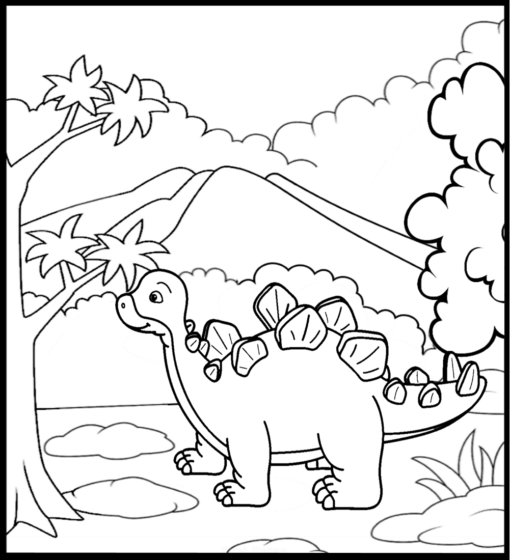 Dinosaurs Coloring Book Coloring Books Toddler Coloring Book Dinosaur Coloring