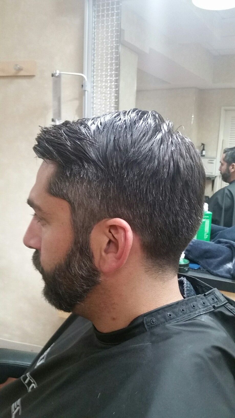 Medium Taper Fade Side Part With Beard Trim Supercuts 101 Summer Street Beard Trimming Taper Fade Beard