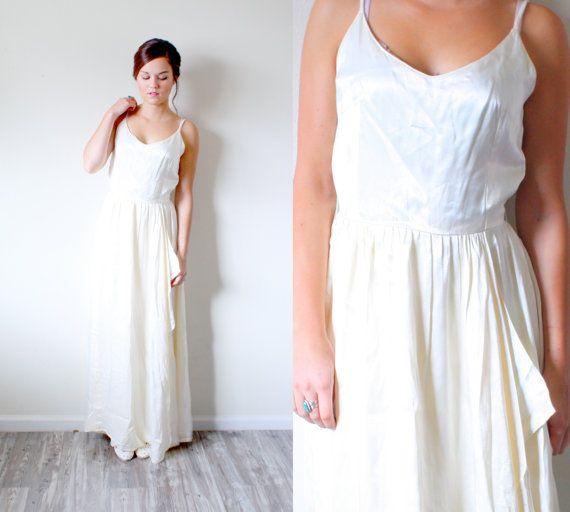 Vintage BOHO / / Hochzeitskleid/Brautkleid / / von BeigeVintageCo