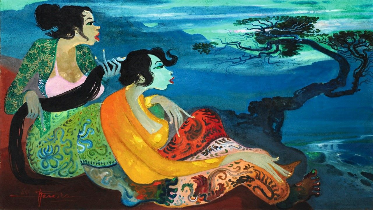 Modern And Contemporary Southeast Asian Art Sotheby 39 S Southeast Asian Arts Art Asian Art