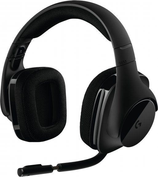 Logitech G533 ‐kuulokemikrofoni – Pelikuulokkeet – Kuulokkeet – Audio ja hifi – Verkkokauppa.com