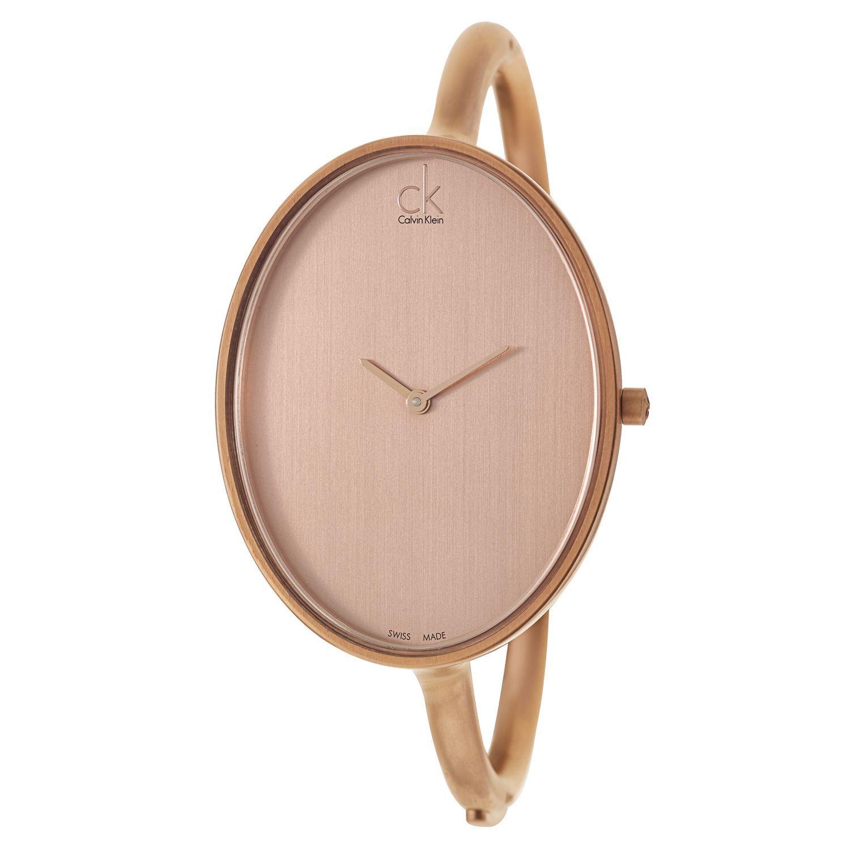 Calvin Klein Women s K3D1S61A Contemporary  Sartoria  Rose Gold PVD Coated  Swiss Quartz Watch 7bef4582bac