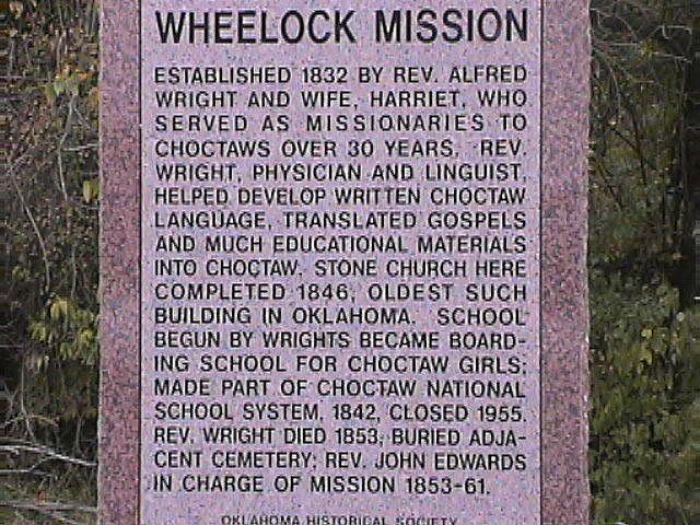 Wheelock Mission.