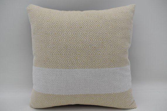 Turkey Pillow 14x14 Throw Pillows Diamond Pillow Natural Pillow