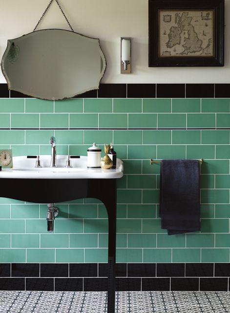 Revestindo as paredes dos banheiros/lavabos. Fired Earth BathroomBathroom  ...