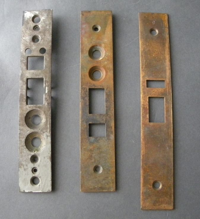 Various Antique Mortise Lock Parts - Various Antique Mortise Lock Parts Door Covers Pinterest