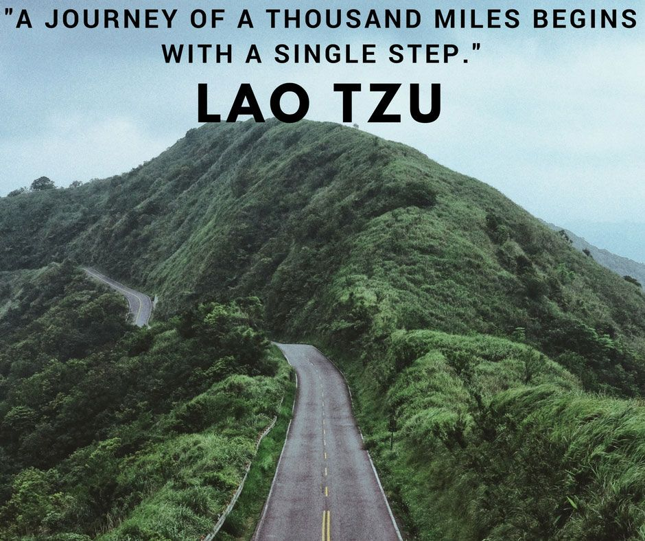 A Journey Of A Thousand Miles Begins With A Single Step Lao