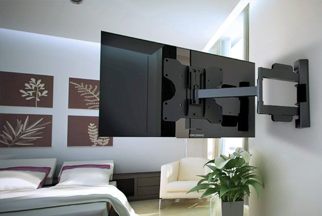 15+ Modern TV Wall Mount Ideas for Living Room | Tv wall mount, Tv ...