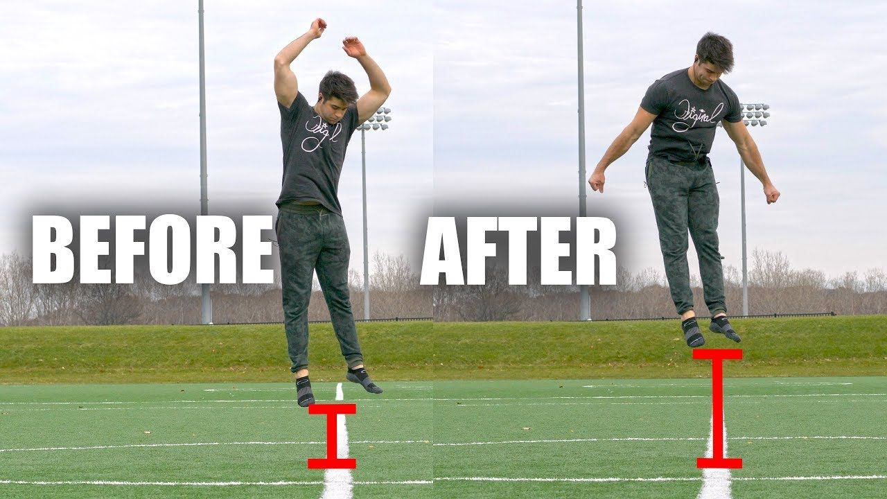 How To Jump Higher In Only 5 Minutes Volleyball Workouts Vertical Jump Training Volleyball Training