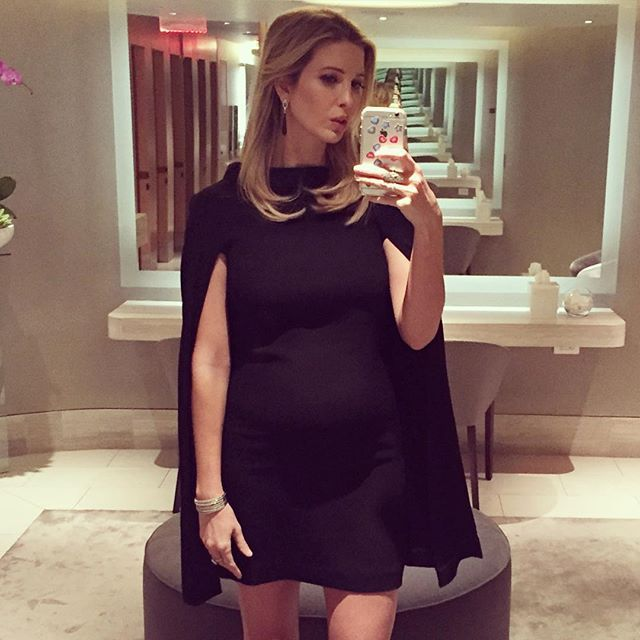 Pregnant Ivanka Trump Shows Off Her Baby Bump in an Adorable Selfie — See  the Pic