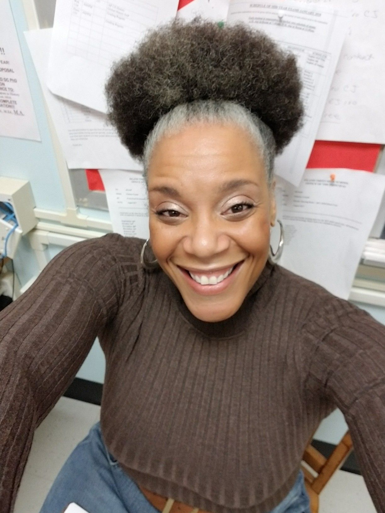 Pin By Sonya On Fro Short Natural Hair Styles Natural Gray Hair Natural Hair Styles