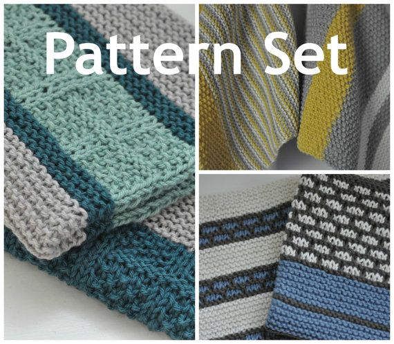 Kitchen Dish Towel PATTERN Combo - Set of 6 Dish Towel ...