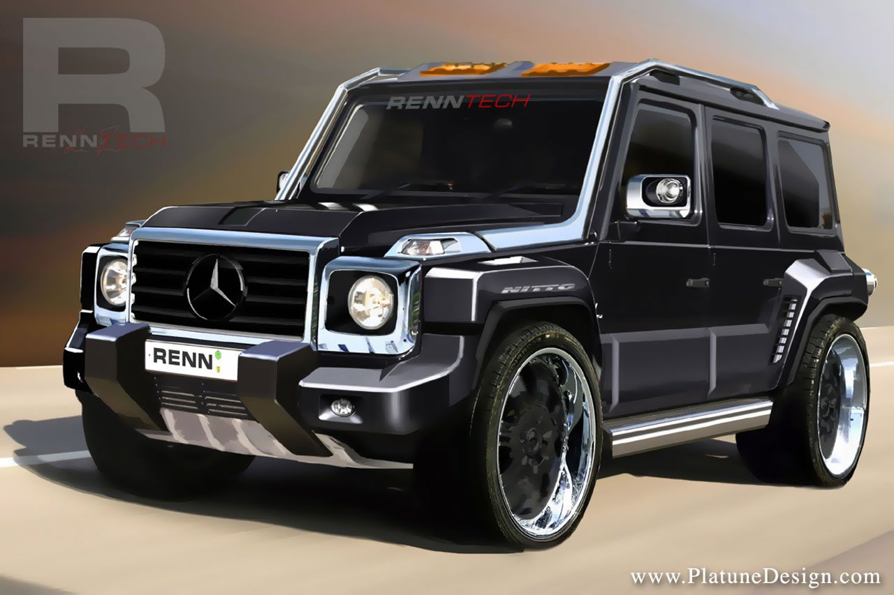 renntech g wagen cdi concept because hummers are for sissies with little pricks information about mercedes benz g class