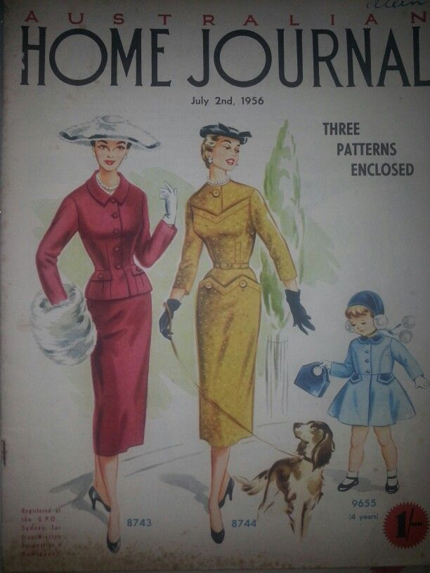 Australian home journal July 1956 cover | 1956 Australian Home ...