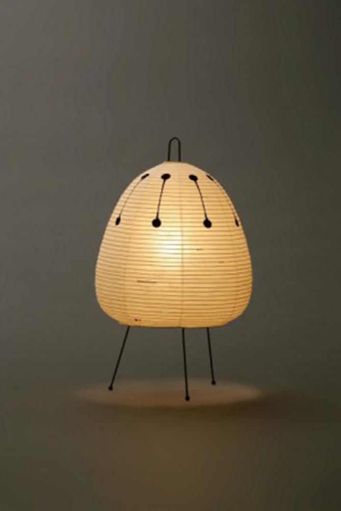 Akari Light Sculptures Isamu Noguchi 30 Noguchi Lamp Light Sculpture Metal Desk Lamps