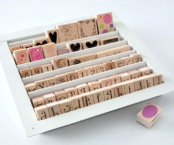 New Craft Storage Ideas Using Unexpected Items